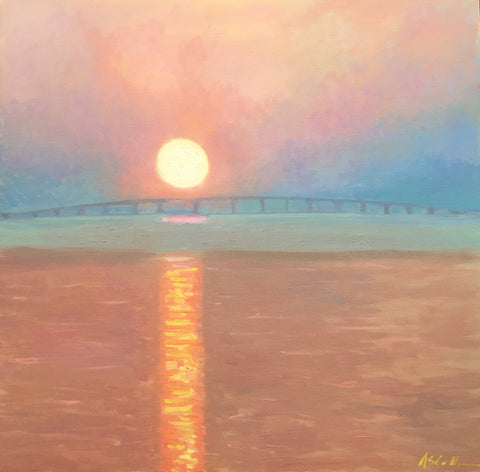 Ponquogue Bridge Morning - Susie Callahan