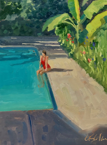 Pool Repose - Susie Callahan