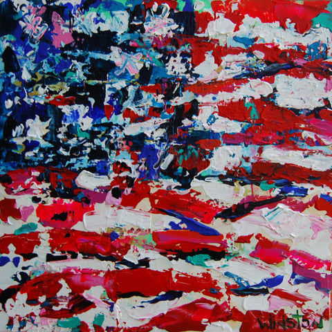 Red, White, & Blue- Winston Wiant