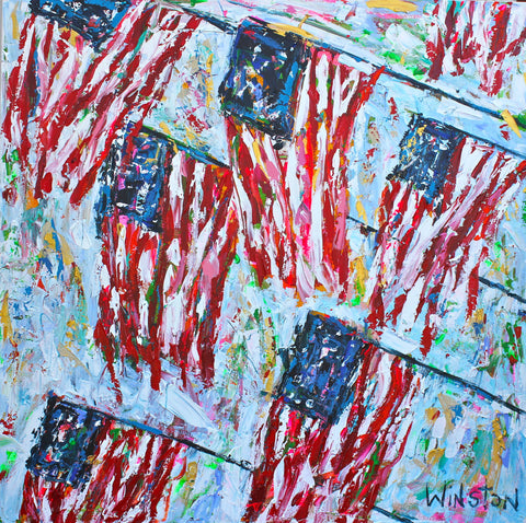 Red, White & Blue - Winston Wiant