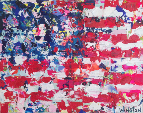 Red, White, & Blue - Winston Wiant