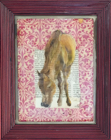Horse At Home (Red Horse)- Katherine McClure