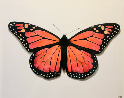 Butterfly Study 2- Richard Bowers