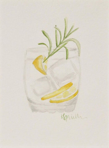 Rosemary Cocktail - Katherine Stratton Miller