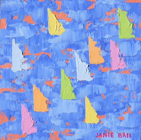 Sailboat #11 - Janie Ball