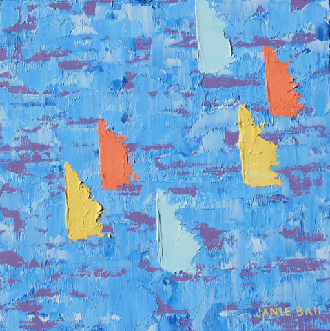 Sailboat #2 - Janie Ball