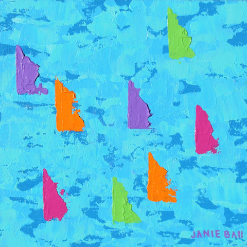 Sailboat #3 - Janie Ball