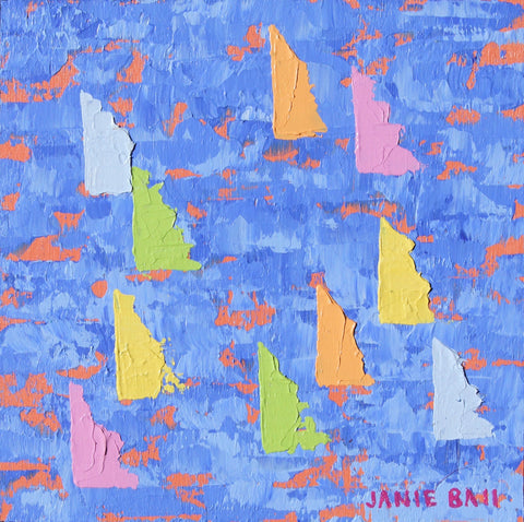 Sailboat #4 - Janie Ball