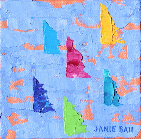 Sailboat #5 - Janie Ball