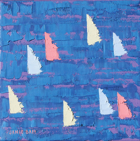 Sailboat #6 - Janie Ball