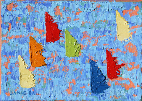 Sailboat #8 - Janie Ball