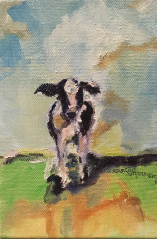 Calf's Shadow - Susie Elder