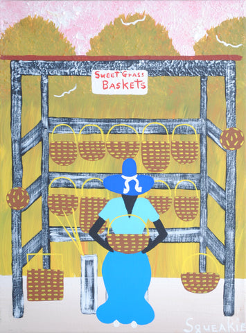 Basket Lady (Sign) - Squeakie