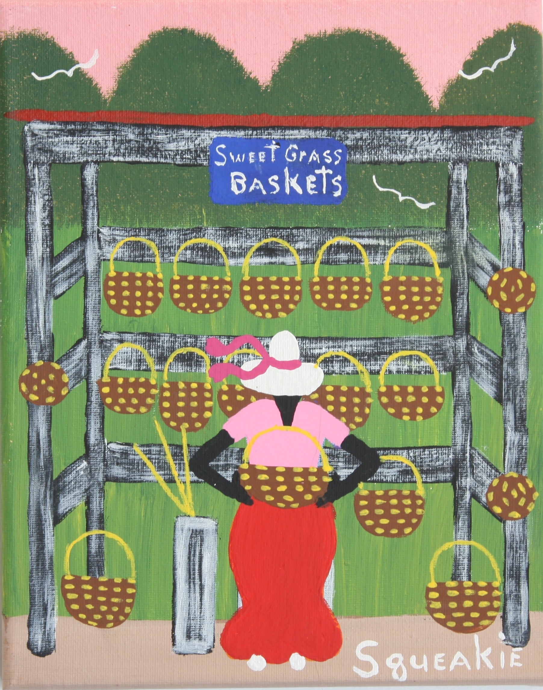 Basket Lady II