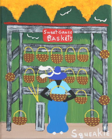 Basket Lady I- Squeakie