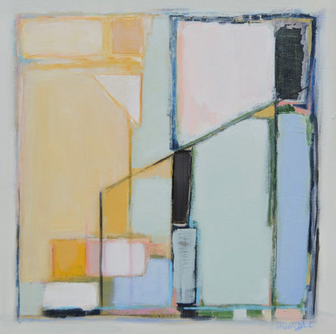 Abstract with Yellow - Sarah Trundle
