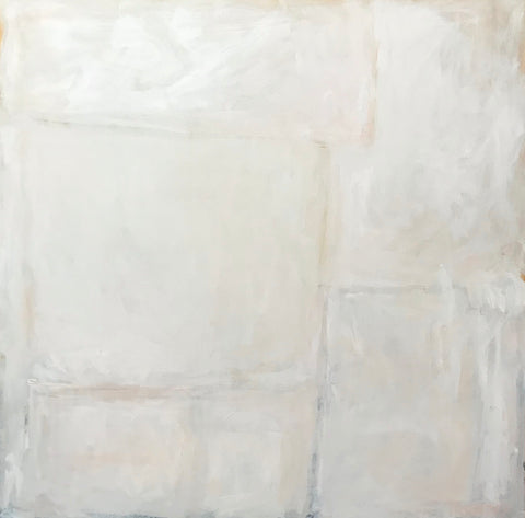 Abstract In Creamy Whites- Sarah Trundle