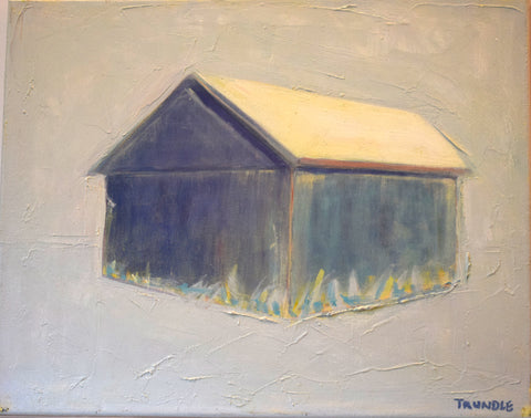 Blue Barn- Sarah Trundle