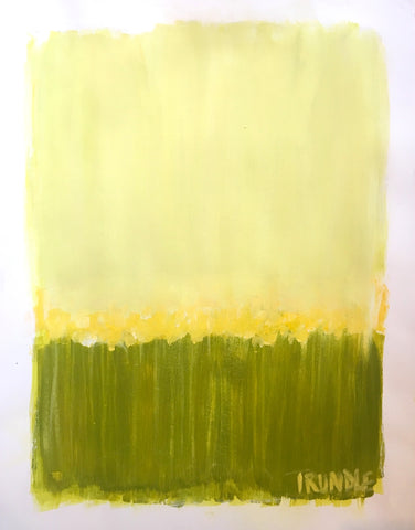 Landscape Study in Green- Sarah Trundle