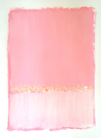 Landscape Study in Pink- Sarah Trundle