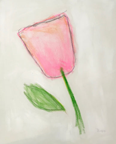 Pink Flower- Sarah Trundle