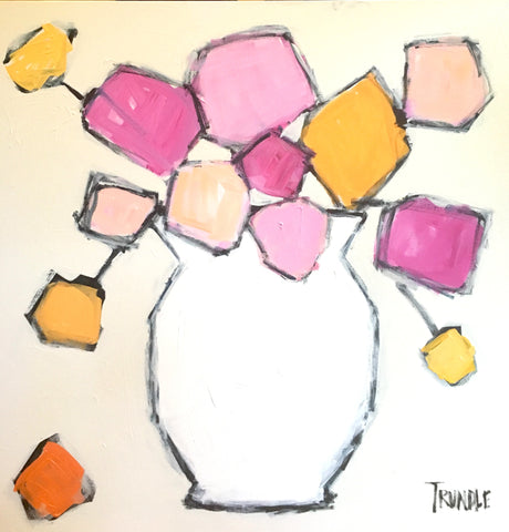 White Vase- Sarah Trundle