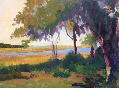 Sea Island View - Anne Strickland