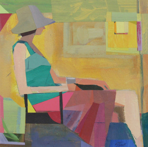 Seated Woman- Susan Trott
