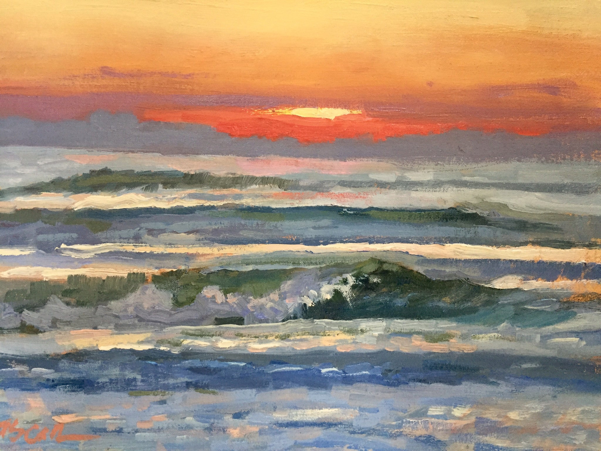 Soft Evening Waves