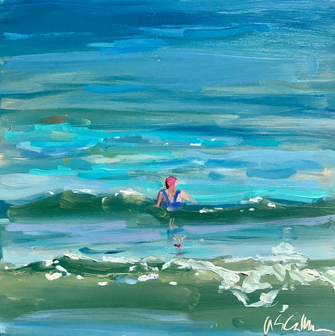 Solo Swimmer- Susie Callahan