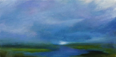 Storm Above the Waterway - Beth Williams