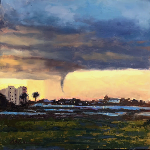 Storm Over Palm Beach- Susie Callahan