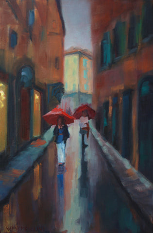 Stroll in the Rain - Susan Westmoreland