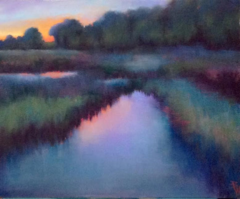 Summer Evening Creek - Beth Williams