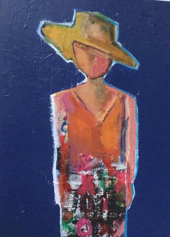 Sun Hatted Woman From Bora Bora- Page Morris