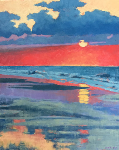 Sunrise on Isle of Palms - Janie Ball