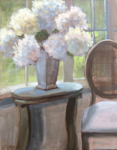 Hydrangeas in the Window