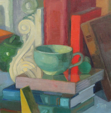 Cup and Books - Susan Trott