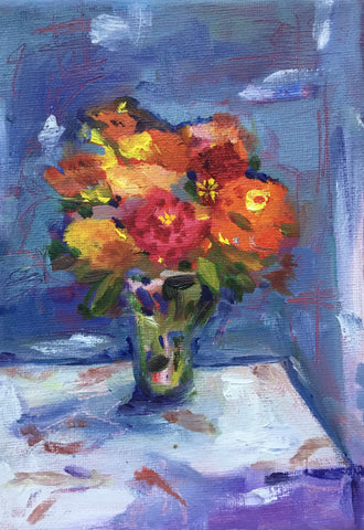 Porch Flowers - Susie Elder