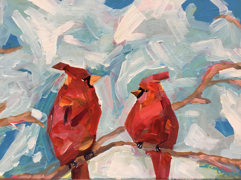 Summer Cardinals - Susie Elder