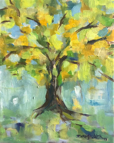 Old Oak Tree - Susie Elder