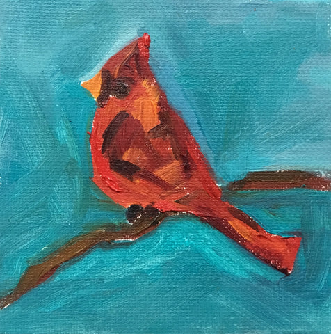 Cardinal Sighting- Susie Elder