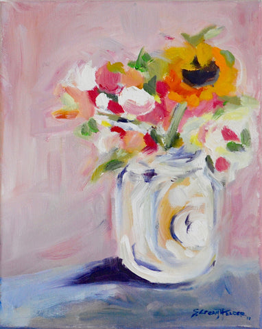 Still Life in Pink- Susie Elder