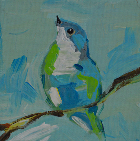 Baby Blue Bird - Susie Elder