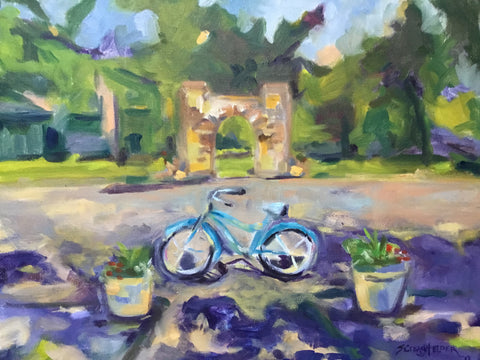 Blue Bike - Susie Elder