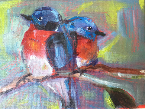 Bluebirds - Susie Elder