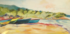 Boats at Little Ochie - Susie Elder