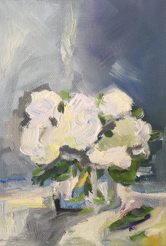 Hydrangeas On A Cloudy Day- Susie Elder