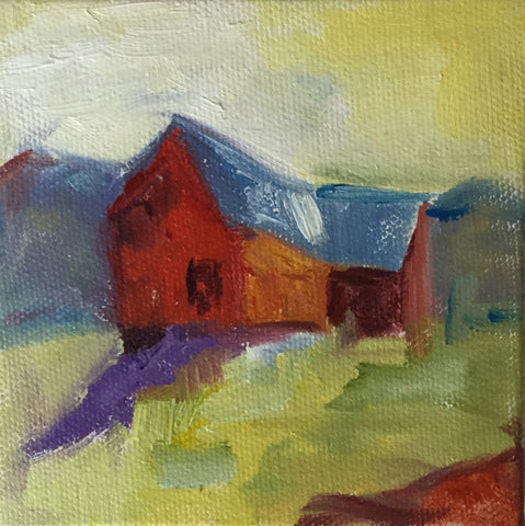 Little Red Barn - Susie Elder