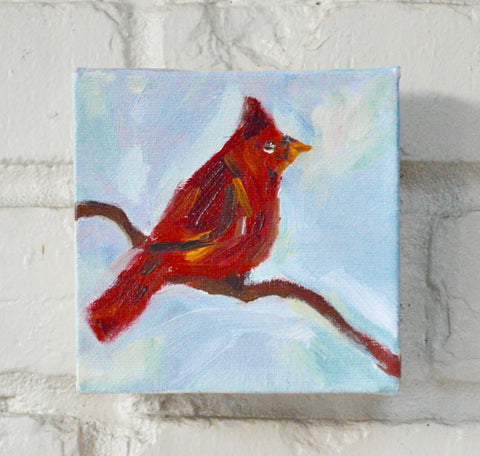 Morning Cardinal- Susie Elder